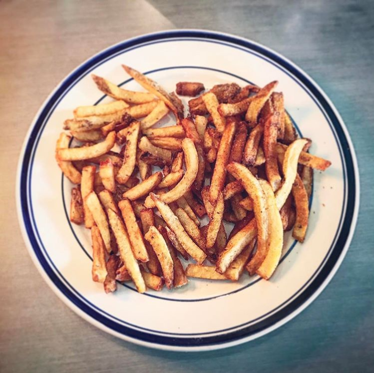 image of fries from Comet Cafe