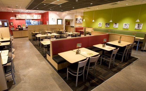 image of the interior of a fazolis restaurant