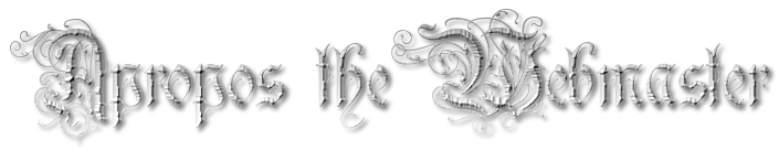 apropos the webmaster in a gothic font